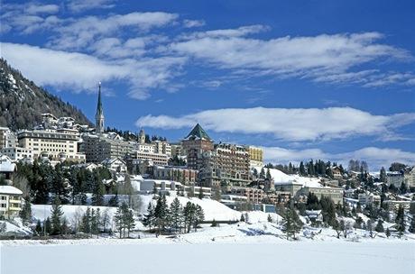 Švýcarsko, St. Moritz