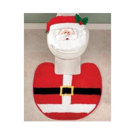 Santův komplet na WC je možné koupit i na internetových aukcích. Tento model se prodává za v přepočtu 70 korun