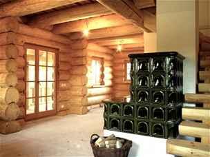 srubový dům Lípa interier