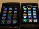 Samsung Wave a Wave II - porovnání displejů