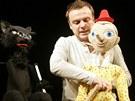 Nová pohádka Pinocchio ve Slováckém divadle. Na snímku Tomáš Šulaj.