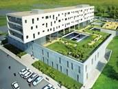 Studie nového onkologického pavilonu FN v Plzni