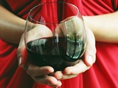 Masáž s příchutí vína