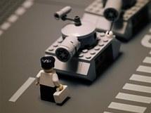 Classics in Lego: Pekingské náměstí Tchien-an-men v době protestů v roce 1989.