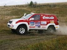 Závodní Toyota týmu Vinland Dakar Team