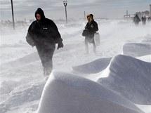 Silný vítr v Atlantic City