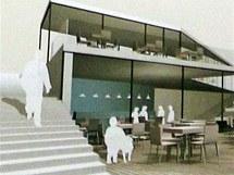 Na labské straně parku by měla vyrůst druhá kavárna