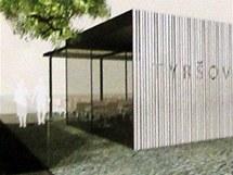 Nová pardubická kavárna u Sukovy třídy v Tyršových sadech