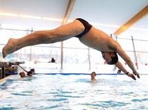 Plavecký bazén v Litomyšli