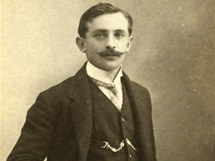 Jeden z majitelů hostince Na Králíku Bohuslav Pitaš