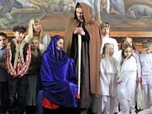 Vánoční představení žáků Waldorfské školy