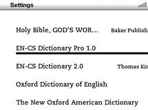 Změňte výchozí slovník v Kindle