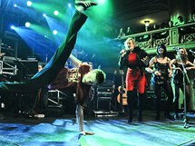 Koncertu dodal šťávu i break dance