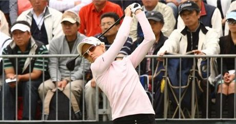 Australsk� golfistka Nikki Campbellov�.