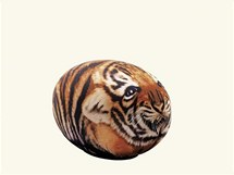 Tato - puf v podobě tygra