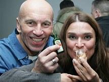 Mahulena Bočanová se v zimních středisku Nassfeld v Rakousku dobře bavila