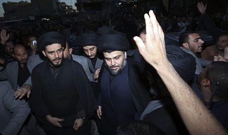 Šíitský duchovní Muktada Sadr se vrátil do Iráku (5. ledna 2011)