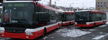 Nové autobusy v plzeňské MHD