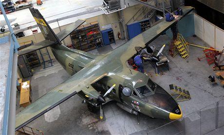 Díky projektu Kunovian Air Force se žáci Střední školy letecké v Kunovicích mohou učit na dvou letadlech L410 UVP.