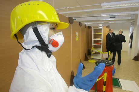 Nové výcvikové středisko pro pracovníky dodavatelských firem jaderné elektrárny Temelín.