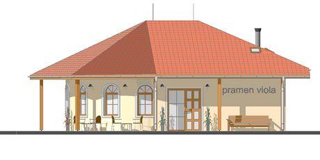 Budova, která vznikne u pramene Viola v Luhačovicích.