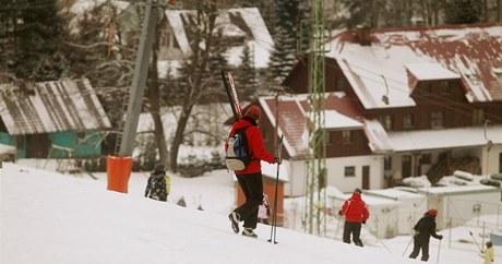 Ski Areál Sněžník v Dolní Morava