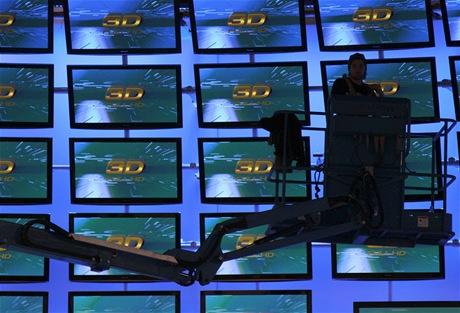 CES 2011 - 3D ilustrační foto