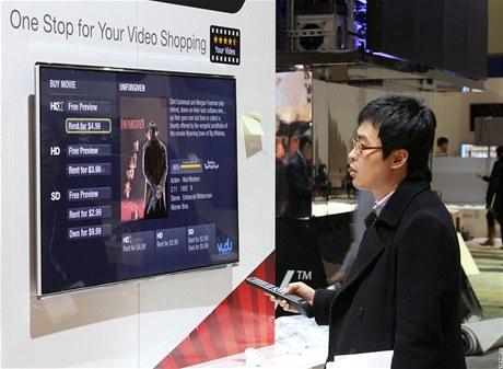 CES 2011 - Samsung a jeho televize plná aplikací