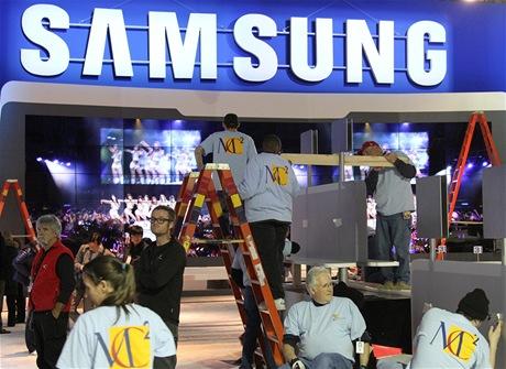 CES 2011 - stánek Samsungu