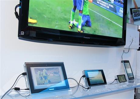CES 2011 - Tablet Panasonic VieraCast