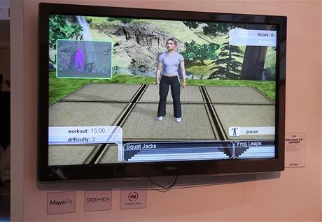 CES 2011 - PrimeSense - vypustil vlastní Kinect. Haier dodal multidotykový displej/televizi.