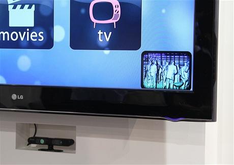 CES 2011 - PrimeSense - vypustil vlastní Kinect. Zde jako dálkový ovladač pro televizi LG.