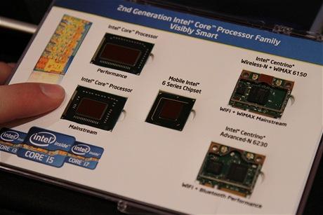Nový čipy od Intelu