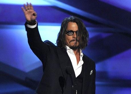 People´s Choice Awards 2011: Johnny Depp