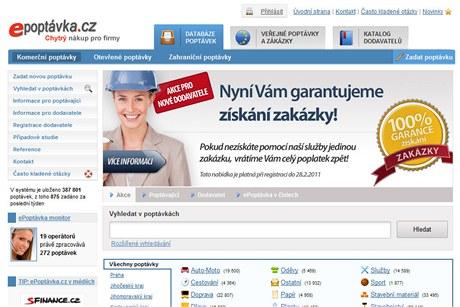 ePoptávka.cz nabízí místo pro setkávání nabídky a poptávky