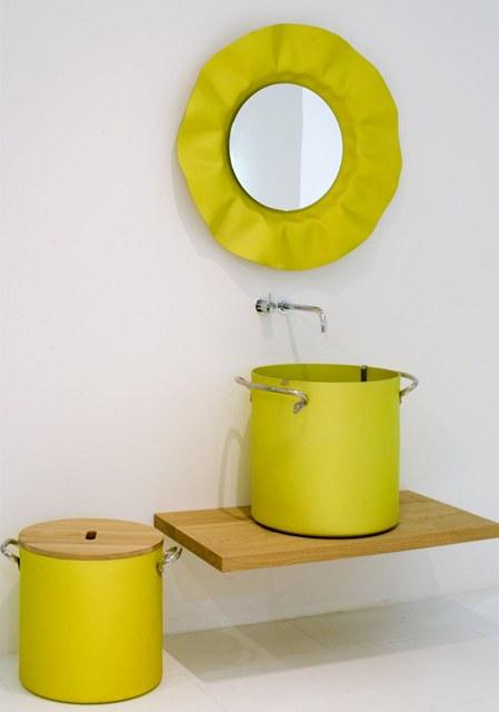 Inspirace z kuchyní se dostala i do koupelen