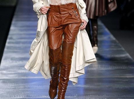 CO NEKUPOVAT VE SLEVÁCH: kožené kalhoty