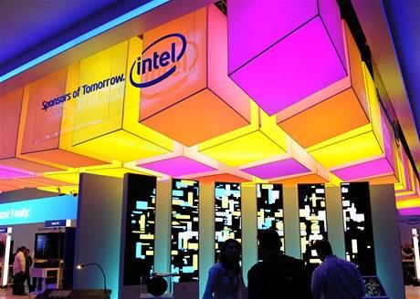 Stánek společnosti Intel na veletrhu CES 2011