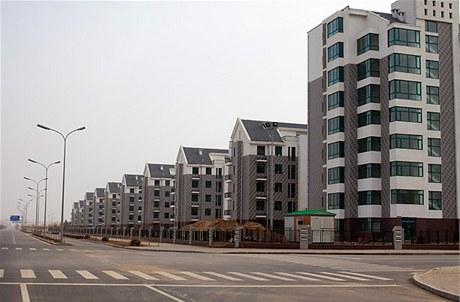 Čtvrť Dongšeng je aktuálně nejobývanější částí města