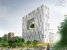 Takto by měla vypadat realizace projektu Žižkov City v místech dnešního nákladového nádraží v Praze 3.