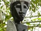 Jedna ze soch vystavených ve skleníku Fata Morgana