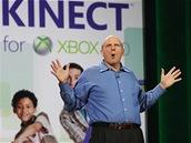 CES 2011 - Steve Ballmer keynote, Kinect zaznamenal obrovský úspěch. Doposud se