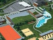 Tak vypadaly plány na plavecký areál v Turnově.