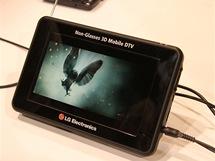 CES 2011 - LG představilo světově první přenosnou televizi Mobile DTV