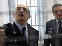 Prohlídka opravené věznice v Rapoticích