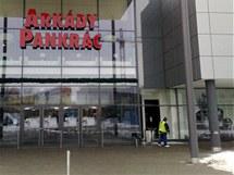 Obchodní centrum na pražské Pankráci, odkud zloději ukradli hodinky za 20 milionů korun.