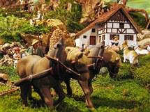 Jesličky Hermanna Riesse ve Wölsau, části Marktredwitz.