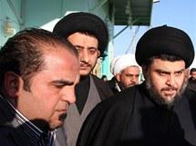 Šíitský duchovní Muktada Sadr se vrátil do Iráku
