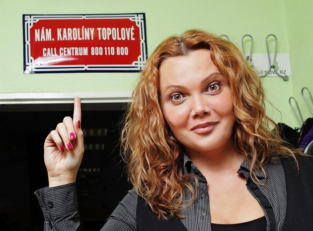 Viceprezidentka spole�nosti AAA Auto Karolína Topolová