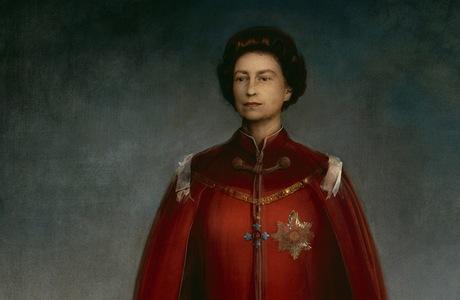 Obraz britské královny Alžběty II. od italského malíře Pietra Annigoniho z roku 1969